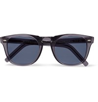 Cutler And Gross D Frame Acetate Sunglasses Gray