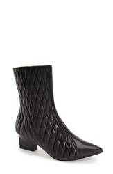 Women's Adrianna Papell 'Marci' Quilted Bootie Black Leather