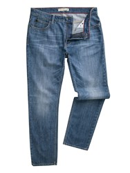 Racing Green Marr Slim Fit Blue Wash Jeans Denim