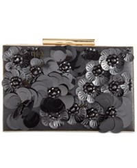 Inc International Concepts Adlee 3D Floral Clutch Only At Macy's Black