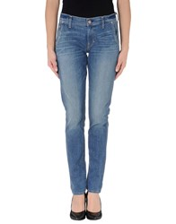 Textile Elizabeth And James Denim Denim Trousers Women Blue