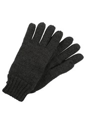 Your Turn Gloves Dark Grey Melange Mottled Dark Grey