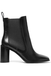Acne Studios Bethany Leather Ankle Boots Black
