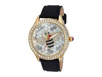 Betsey Johnson Bj00517 63 Bee Watch Gold Black Watches