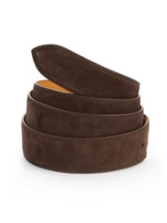 Corthay Dark Brown Patina French Leather Belt