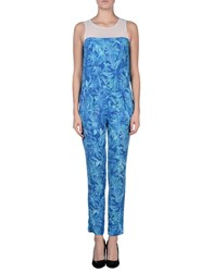 Axara Paris Jumpsuits Blue