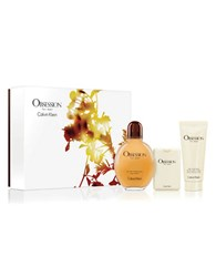 Calvin Klein Obsession For Men Father's Day Gift Set 134.00 Value No Color