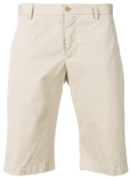 Etro Classic Chino Shorts Nude And Neutrals