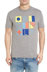 Original Penguin Men's Flags T Shirt