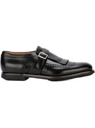 Church's Fringe Monk Shoes Black