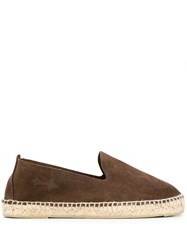 Manebi Hampton Espadrilles Brown