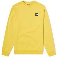 The North Face Masters Of Stone Crew Sweat Yellow