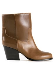 Maison Martin Margiela Classic Western Boots Brown