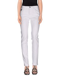 Gucci Denim Denim Trousers Women White