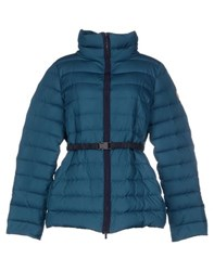 Alviero Martini 1A Classe Coats And Jackets Down Jackets Women Slate Blue