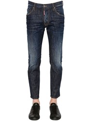 Dsquared 16Cm Skater Fit Stretch Denim Jeans