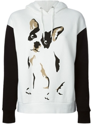 Etre Cecile 'Comic Dog' Hoodie White