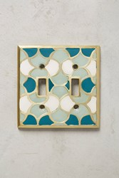 Anthropologie Zagora Switch Plate Turquoise