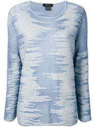 Avant Toi Knitted Top Blue
