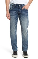 Rock Revival Men's Big And Tall Alternative Straight Leg Jeans Blue