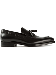 Henderson Fusion Tasselled Loafers Black