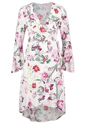Neon Rose Harper Floral Summer Dress Multi Multicoloured