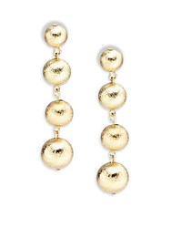 Amrita Singh Ball Drop Earrings Gold