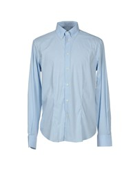 Enrico Coveri Shirts Shirts Men Sky Blue