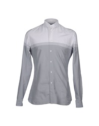 Jonathan Saunders Long Sleeve Shirts Grey