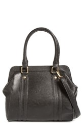 Poverty Flats By Rian Cutout Faux Leather Satchel