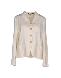6267 Suits And Jackets Blazers Ivory