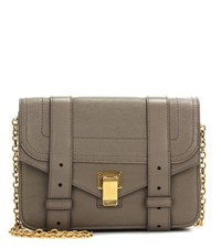 Proenza Schouler Ps1 Chain Leather Clutch Beige