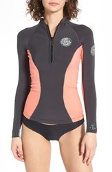Rip Curl Women's G Bomb Wetsuit Jacket Coral