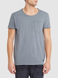 Minimum Grey Bradley Pocket Round Neck T Shirt