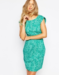 Emily And Fin Emily And Fin Sophie Printed Dress 894Green