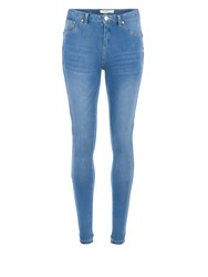 Morgan Stretch Skinny Jeans Blue