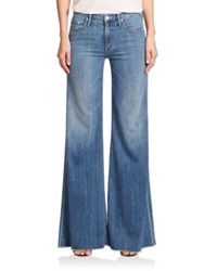 Mother The Roller High Rise Flared Jeans Derby Dreams