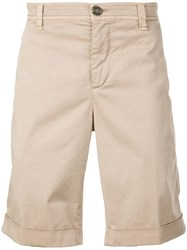 Brunello Cucinelli Classic Chino Shorts Brown