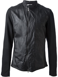 Lost And Found Lambskin Jacket Black