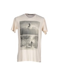 Iron And Resin Topwear T Shirts Men Light Pink