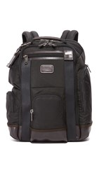 Tumi Alpha Bravo Shaw Deluxe Brief Pack Hickory