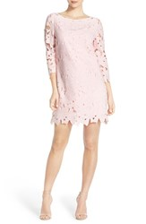 Women's Felicity And Coco Floral Lace Shift Dress Light Pink