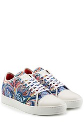 Etro Sneakers With Leather White