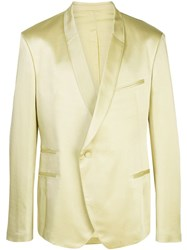 Haider Ackermann Off Centre Button Blazer Yellow