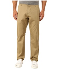 Dockers Alpha Original Athletic Stretch Twill New British Khaki Men's Casual Pants Beige