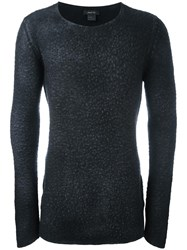 Avant Toi Round Neck Jumper Black