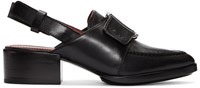 3.1 Phillip Lim Black Buckle Loafers