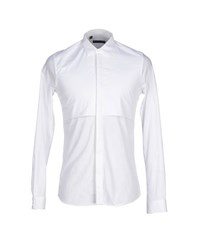 Alessandro Dell'acqua Shirts Shirts Men White