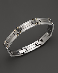 Dolan Bullock Stainless Steel And 18K Gold Bracelet No Color