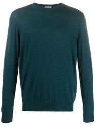 Drumohr Crewneck Jumper Green